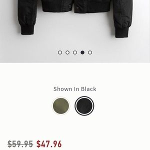 Hollister Jackets & Coats - Plain black hollister bomber jacket
